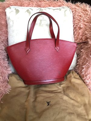 Louis Vuitton Epi Red Bag AUTHENTIC for Sale in Tacoma, WA