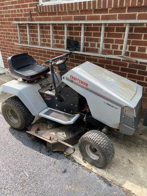 Craftsman riding mower for Sale in Alexandria, VA