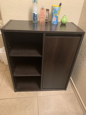 Dark Brown Cabinet/Shelves for Sale in Grand Prairie, TX