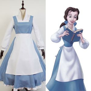 Belle beauty and the beast costume disney brand new size large for Sale in Alexandria, VA