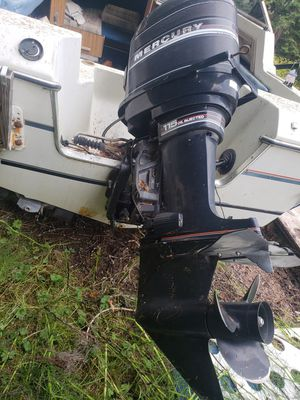 Mercury 115hp, boat and trailer for Sale in Duvall, WA