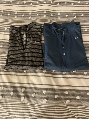 2 Nike Dri-fit Running Long Sleeves (XL) for Sale in Fresno, CA