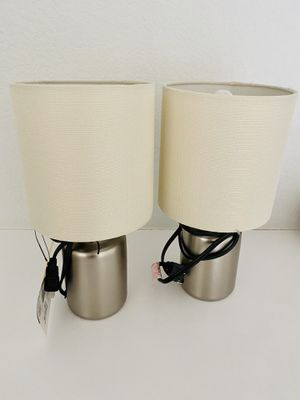 A pair of table lamp(brand new) for Sale in Milpitas, CA