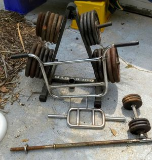 Iron weights plates for Sale in Jupiter, FL