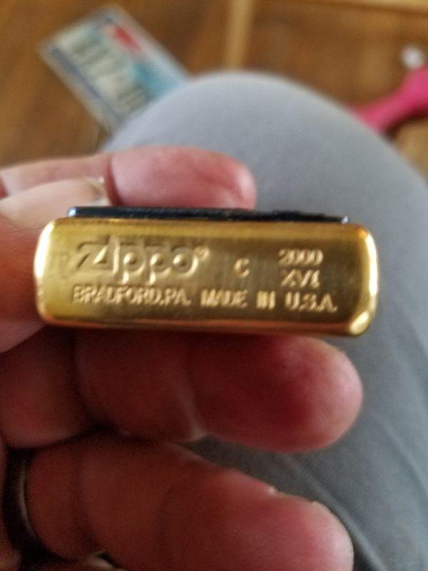 Zippo in case