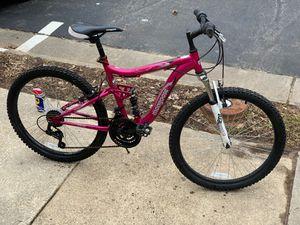24-inch Mongoose Ledge 2.1 Girls' Mountain Bike for Sale in Woodbridge, VA