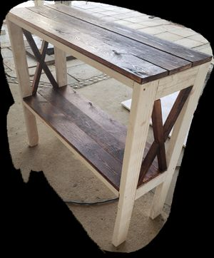 Entry Table Solid Wood for Sale in Riverside, CA