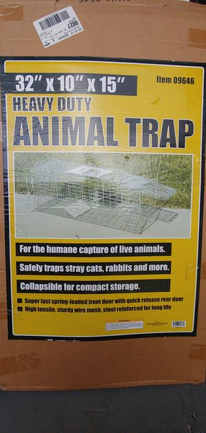 Heavy Duty Animal Trap for Sale in Torrance, CA