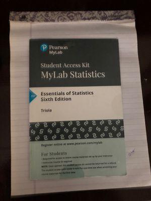 Mylab Statistics- Pearson for Sale in Norfolk, VA