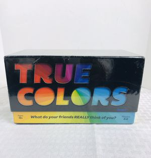 2018 Milton-Bradley TRUE COLORS Adult Game for Sale in Pawtucket, RI