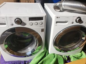 LG front loading washer and dryer for Sale in Arlington, VA