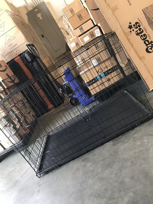 Dog crate wire folding size 48 xxl new in box for Sale in Claremont, CA