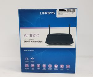 Brand New (Open Box) Linksys AC1000 Dual- Band Smart Router EA5800 for Sale in Miami, FL