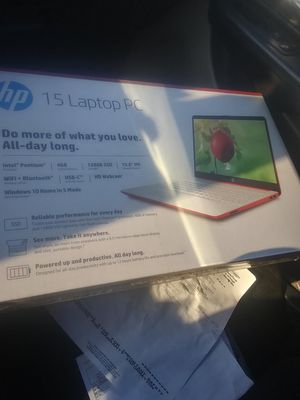 HP laptop Brand new in box for Sale in Hattiesburg, MS