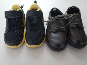 BOY SHOES SIZE 7...2 PAIRS for Sale in Coral Springs, FL