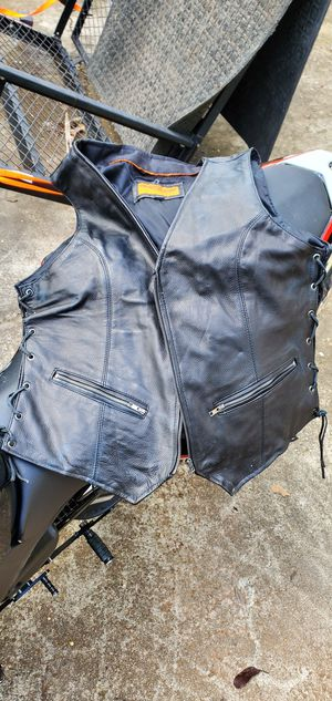 Womens Motorcycle vest for Sale in Douglasville, GA