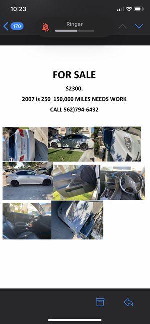 Lexus IS 250 for Sale in Los Angeles, CA