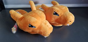 Pokemon Charizard Slippers with Tag for Sale in Little Elm, TX