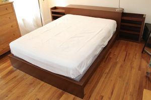Queen size Malm bed for Sale in Upper Marlboro, MD