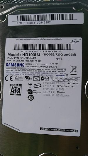 1000g HD. Samsung desktop for Sale in Orlando, FL