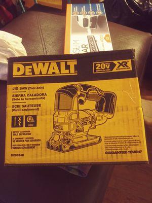 Dewalt jigsaw for Sale in Middletown, CT