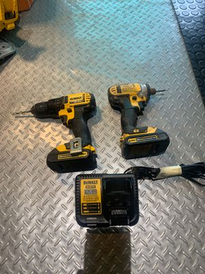 Dewalt 20 volt impact and drill driver set for Sale in Fullerton, CA