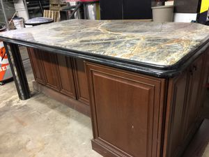 Marble countertop for kitchen island for Sale in Chicago, IL