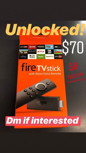 Amazon Fire TV Stick for Sale in UNIVERSITY PA, MD