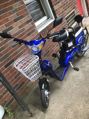 ELECTRIC BIKE SCOOTER E-BIKE MOPED 2 SEATER for Sale for sale  Branchburg, NJ