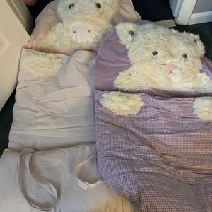 2 Pottery Barn Kids Animal Sleeping Bags for Sale in Sunbury, OH