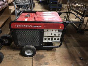 Honda ES 6500 Generator for Sale in Puyallup, WA