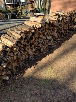 Hello I am selling freshly cut firewood for a big stacks is $200 for a small stack of wood is 60 for a wheelbarrow is $15 for Sale in Springfield,  VA