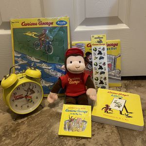 Curious George Assorted Vintage Items Bundle for Sale in Chula Vista, CA