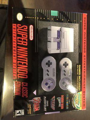 Super Nintendo classic edition brand new for Sale in Houston, TX