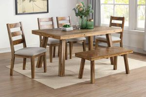 6-pcs dining table on sale @Elegant Furniture 🎈🛋 for Sale in Fresno, CA