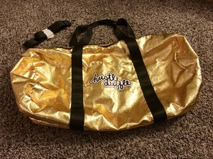 Hustle Duffle gym bag gold large for Sale in Mesa, AZ