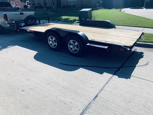 16 ' Equipment utility/ Car hauler Trailer for Sale in Dallas, TX