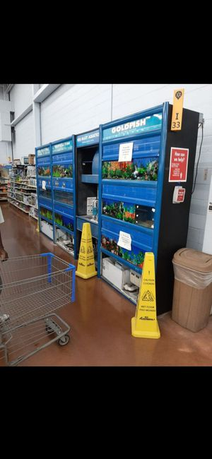 Fish tanks from the walmart stores for Sale in Wichita, KS