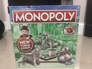 Monopoly Original Board Game for Sale in Lake Worth, FL