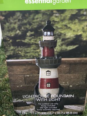 Lighthouse fountain for Sale in Brockton, MA
