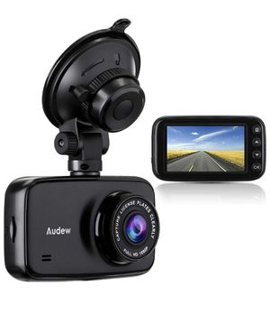 Car Dash Cam, 3.7'' LCD HD 1080P Car Dashboard Camera, Wide Angle Car Recorder with G-Sensor, WDR, Loop Recording, Night Vision for Sale in Irvine, CA