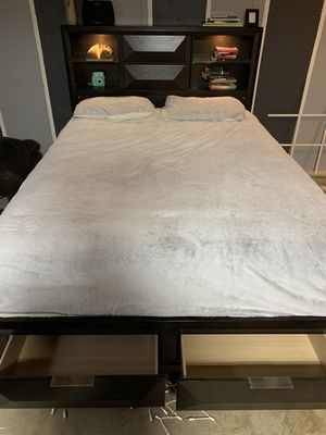 Queen Bed Frame Deal for Sale in Joliet, IL