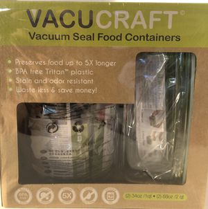 🙋‍♀️ Vacuum Seal Storage Containers and Pump for Sale in Pembroke Pines, FL