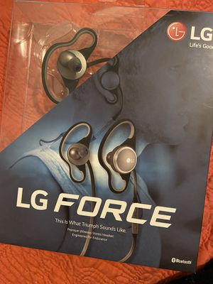 LG force Bluetooth Headset for Sale in Albuquerque, NM