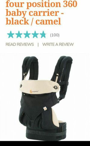 FOUR POSITION 360 EGRO BABY CARRIER AND INFANT SEAT for Sale in Los Angeles, CA