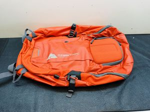 Brand New Ozark Trail Silverthorne Backpack Daypack (Orange). Hydration compatible, Molded hard-case sunglasses pocket, Large main compartment, Safet for Sale in San Antonio, TX
