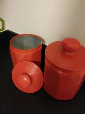 Vintage 1970s Kromex canister set for Sale in Baltimore, MD