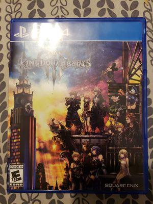 Kingdom Hearts 3 PS4 for Sale in Tampa, FL