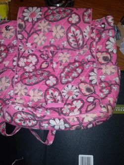 Pink Vera Bradley Purse/backpack for Sale in Madisonville,  TN