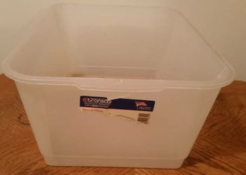 "21""W White Transco Laich Industires Plastic Storage Drawer Bin Basket for Sale in Queens,  NY"